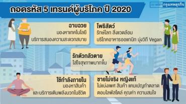 5 เทรนด์ผู้บริโภค 2020 สินค้าสะท้อนคุณค่า มาแรง..!!