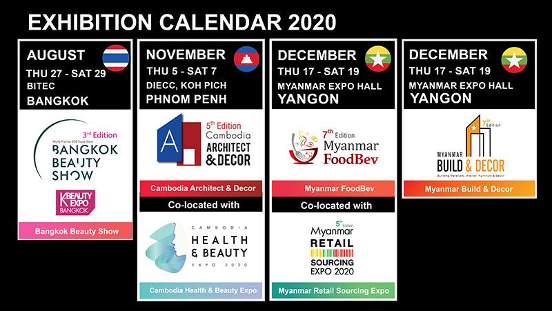 EXHIBITION CALENDAR 2020
