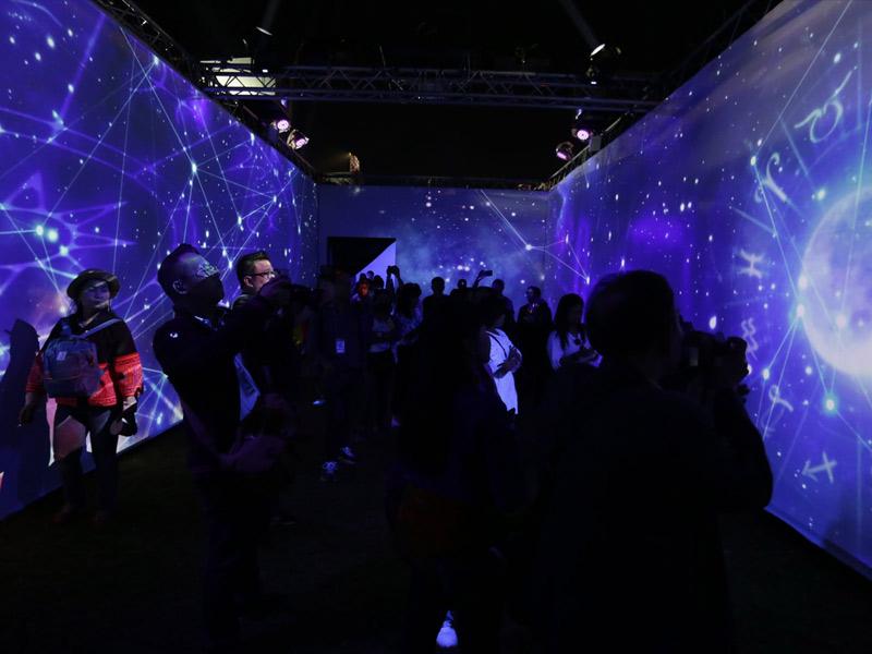 Pre Show Village of Illumination